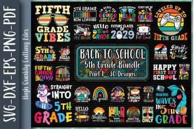 Fifth Grade Back To School Bundle P1
