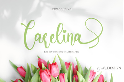 Carelina Script