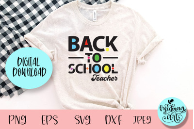 Back to school teacher svg, school svg