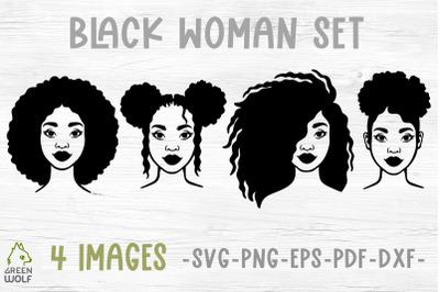 Black woman svg bundle Juneteenth svg African american women svg