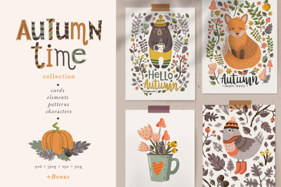Autumn time collection