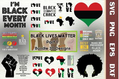 Black Lives Matter Bundle Part 1