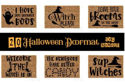 Halloween Doormat SVG Bundle, Halloween Doormat Bundle