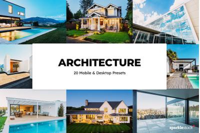 20  Architecture LR Presets