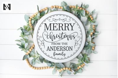 Merry Christmas Svg, Christmas Svg, Happy Holidays Svg