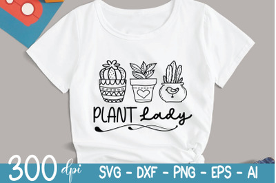 Plant SVG - Plant Lady