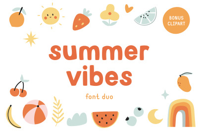 Summer vibes | Font duo
