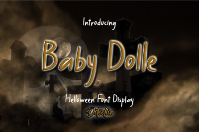 Baby Dolle - Halloween Font Display