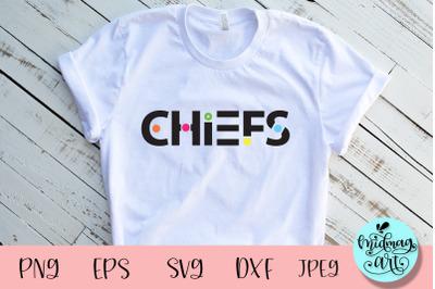 Chiefs svg, sports svg