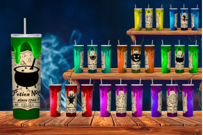 Halloween Potion Tumbler Sublimation