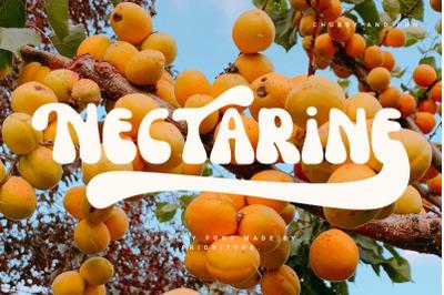 Nectarine - Display Font