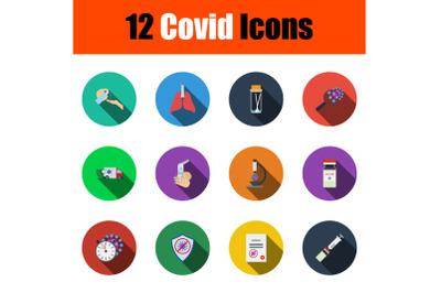 Covid Icon Set
