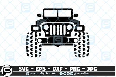 Jeep SVG Car SVG Outdoor SVG PNG Mountain SVG