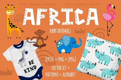 AFRICA baby animals