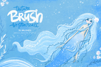 Texture Brushes for Procreate