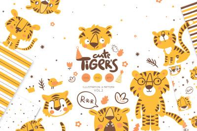 Tiger illustration vol.2