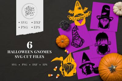 Halloween Gnomes SVG Cut Files