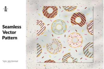 American food seamless pattern