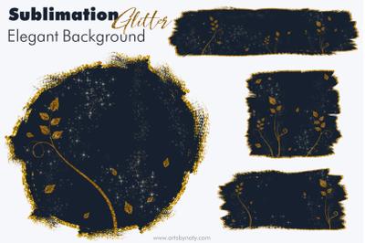 Sublimation Glitter Elegant Background.