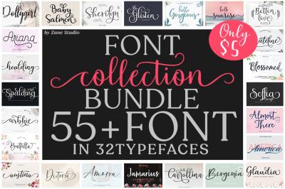 Font Collection Bundle