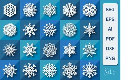 Snowflakes SVG