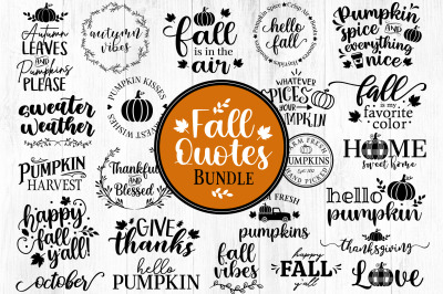 Fall SVG, Fall Quotes svg, Autumn svg, Thanksgiving Svg, Pumpkin svg