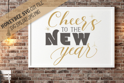 Cheer's to the New Year svg