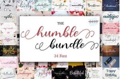 The Humble Font Bundle