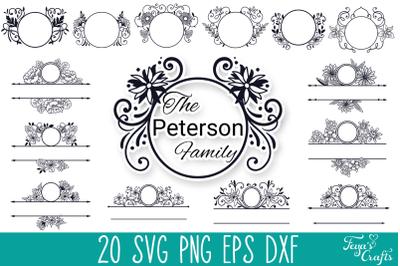 Mailbox Monogram SVG Cut Files Pack | Mailbox Decal