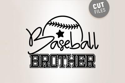 Baseball Brother Svg