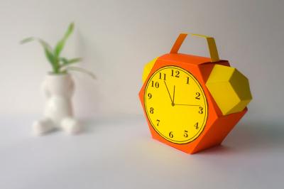DIY Alarm Clock favor (Printable)