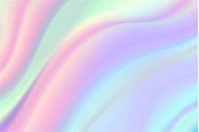 Iridescent foil background. Beautiful holographic texture&2C; rainbow gra