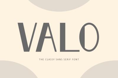 Valo - Classy Sans Serif