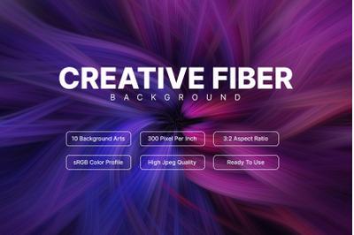10 Creative Fiber Bakcground