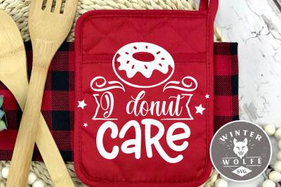 I donut care SVG EPS DXF PNG