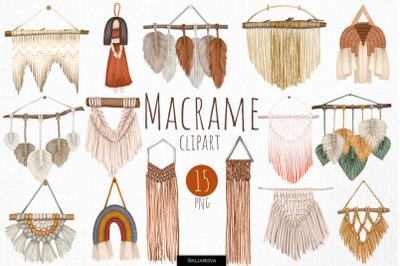 Macrame clipart