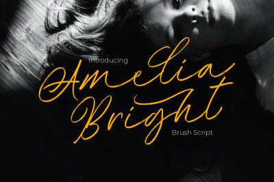 Amelia Bright - Handwritten Script