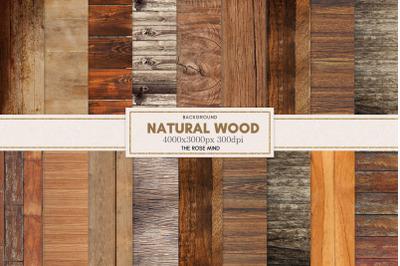 Natural Wood Digital Paper, Textures