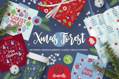 Xmas Forest Kit #2