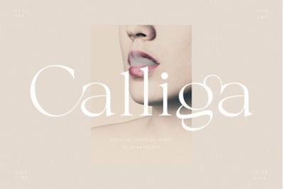 Calliga // Stylish Ligature Serif