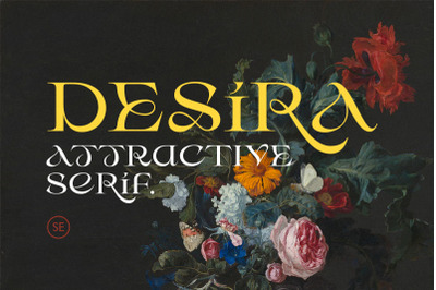 Desira - Attractive Serif