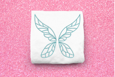 Fairy Wings Outline | Embroidery