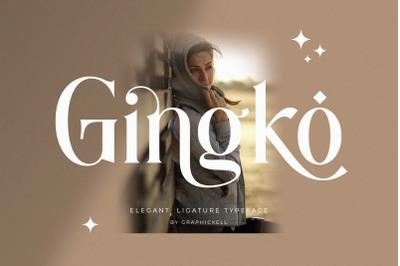 Ginko Ligature Typeface