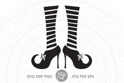 Witches legs SVG, clip art, cut file