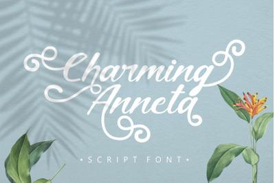 Charming Anneta - Script Font