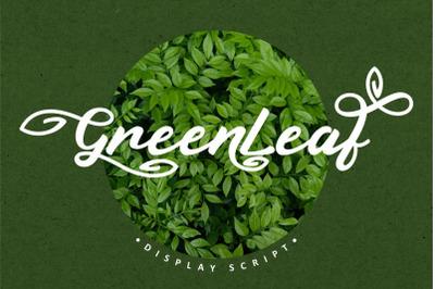 Green Leaf - Display Script