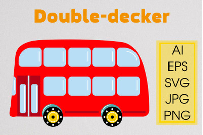 London red bus SVG