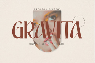 Gravita | Unique Serif Typeface