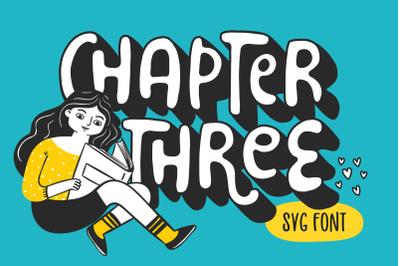 Chapter Three Font