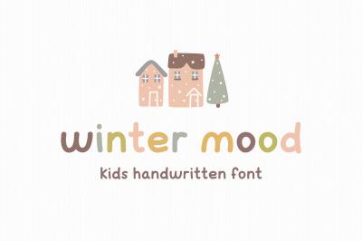 Winter mood | Kids font